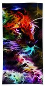 Wild Puma Colors Beach Towel