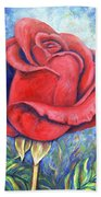 Wild Rose Two Beach Towel
