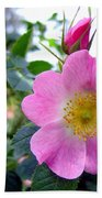 Wild Roses 2 Beach Towel