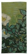 Wild Roses Saint-remy-de-provence, May-june 1889 Vincent Van Gogh 1853 - 1890 Beach Towel