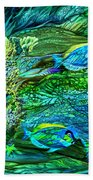 Wild Sargasso Sea Beach Towel