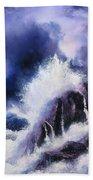 Wild Sea Beach Towel