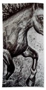 Wild Stallion Beach Towel