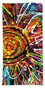 Wild Sunflowers 3 Beach Towel
