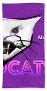 Wildcat 90 Logo Semi Comp4 Beach Towel