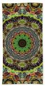 Wilder Flower Mandala Beach Towel