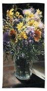 Wildflower Bouquet II Beach Towel