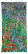 Wildflower Current Beach Towel