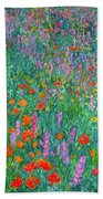 Wildflower Current Beach Towel