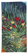 Wildflower Garden 2 Beach Towel