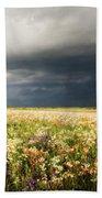 Wildflower Panorama 2008 Beach Towel