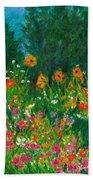 Wildflower Rush Beach Sheet