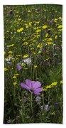 Wildflower Surprise Beach Towel