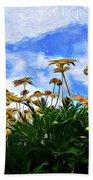 Wildflowers 11318 Beach Towel