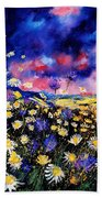 Wildflowers 67 Beach Towel