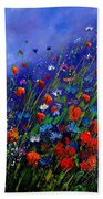 Wildflowers 78 Beach Towel