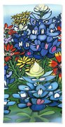 Wildflowers Beach Towel