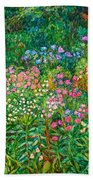 Wildflowers Near Fancy Gap Beach Towel