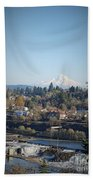 Willamette Falls 2 Beach Towel