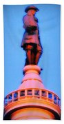 William Penn - City Hall In Philadelphia Beach Towel