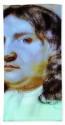 William Penn Portrait Beach Towel