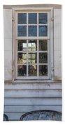 Williamsburg Window 86 Beach Towel