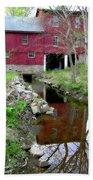 Williston Mill Reflections Beach Towel