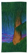Willow Tree Beach Towel