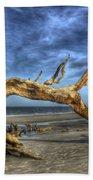 Wind Bent Driftwood Beach Sheet