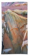 Wind Blown Sand Texture Beach Towel