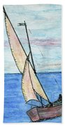 Wind In The Sails Beach Towel
