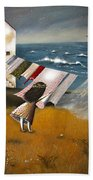 Wind Of Change. Beach Towel