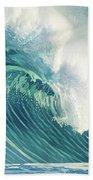 Wind Waves Beach Towel