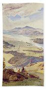 Windermere From Ormot Head Beach Towel