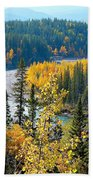 Winding Creek Beach Towel
