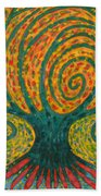 Winding I Beach Towel