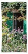 Window To Monet Beach Towel