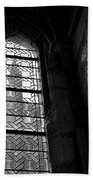 Window To Mont St Michel Beach Towel by Dave Bowman