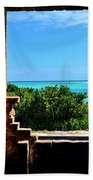 Window To Paradise Beach Towel