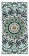 Window To The World Mandala Beach Towel