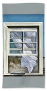 Window With A View Beach Towel