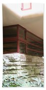 Windows Stones Fallingwater  Beach Towel