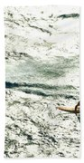 Windsurfing Silver Waters Beach Towel