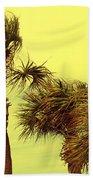 Windy Palms Beach Towel