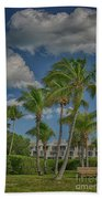 Windy Sanibel Day Beach Towel