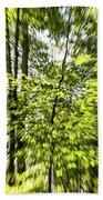 Windy Trees Beach Towel