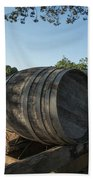 Wine Barrels At Vineyard Beach Towel