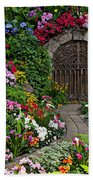 Wine Celler Gates  Beach Towel