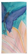 Wings And Pedals Beach Towel