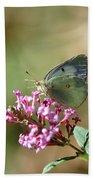 Wings And Petals Beach Sheet
